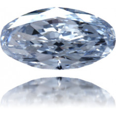 Natural Blue Diamond Cushion 0.28 ct Polished