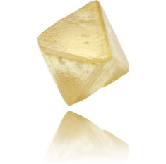 Natural Yellow Diamond Rough 0.59 ct Rough
