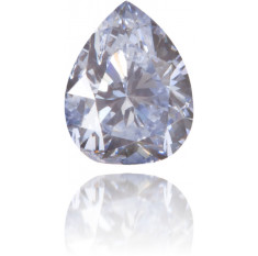 Natural Blue Diamond Pear Shape 0.11 ct Polished