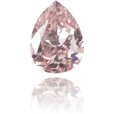 Natural Pink Diamond Pear Shape 0.31 ct Polished