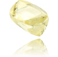 Natural Yellow Diamond Rough 0.64 ct Rough