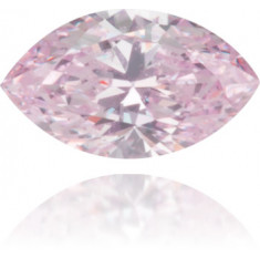 Natural Pink Diamond Marquise 0.08 ct Polished
