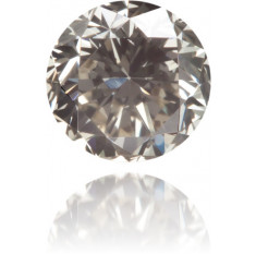Natural Gray Diamond Round 0.37 ct Polished
