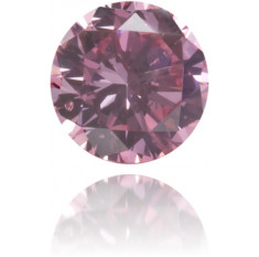 Natural Pink Diamond Round 0.08 ct Polished
