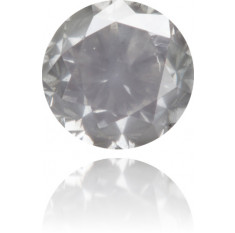 Natural Gray Diamond Round 0.80 ct Polished