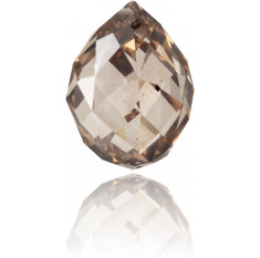 Natural Brown Diamond Briolet 4.91 ct Polished