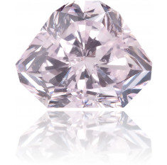 Natural Pink Diamond Shield 1.00 ct Polished