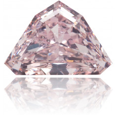 Natural Pink Diamond Shield 1.01 ct Polished