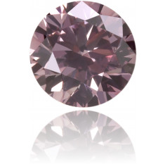 Natural Pink Diamond Round 0.20 ct Polished