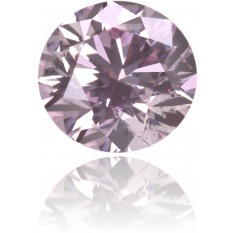 Natural Pink Diamond Round 0.28 ct Polished