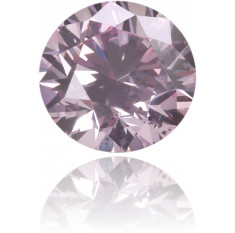 Natural Pink Diamond Round 0.32 ct Polished