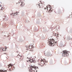 Baby Pink small diamonds melee