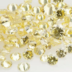 Fancy Yellow small diamonds melee