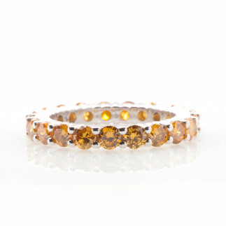 Cognac Eternity Ring