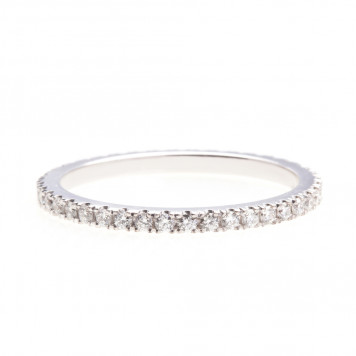White Diamond Eternity Ring