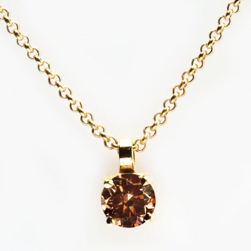 Chocolate Diamond Pendant