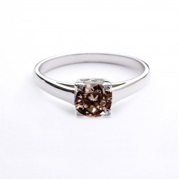 Engagement Chocolate Diamond Ring