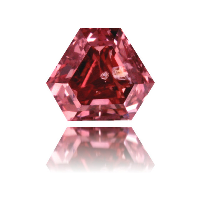Natural Pink Diamond Triangle 0.35 ct Polished