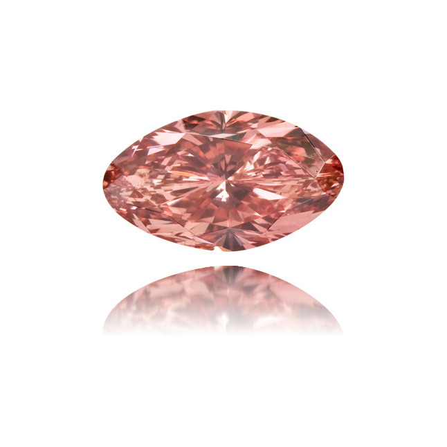 Natural Pink Diamond Marquise 0.51 ct Polished