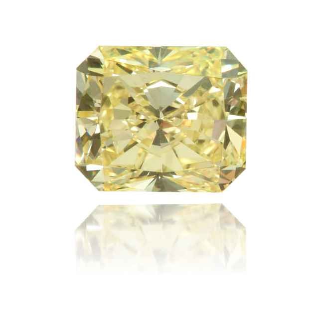 Natural Yellow Diamond Square 1.05 ct Polished