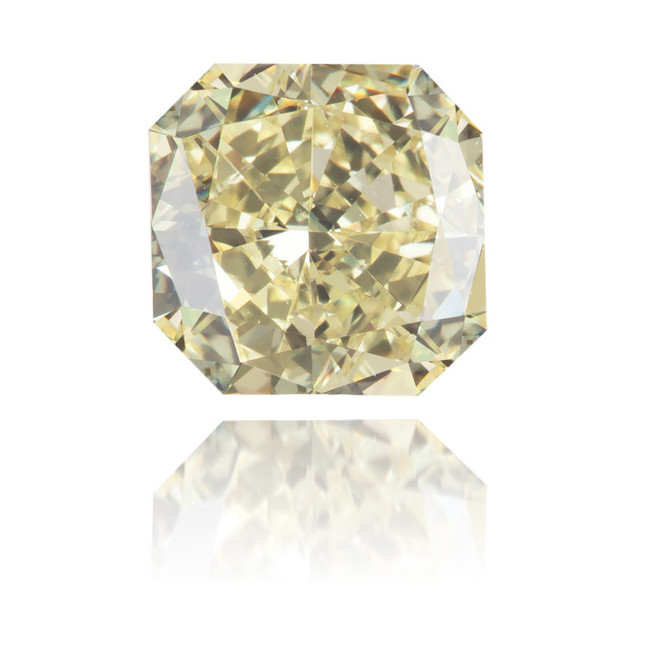 Natural Yellow Diamond Square 1.19 ct Polished