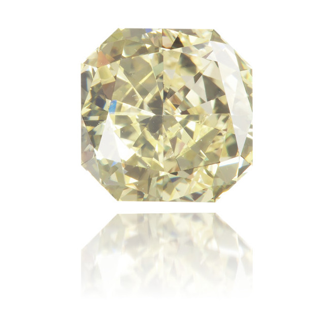 Natural Yellow Diamond Square 1.25 ct Polished