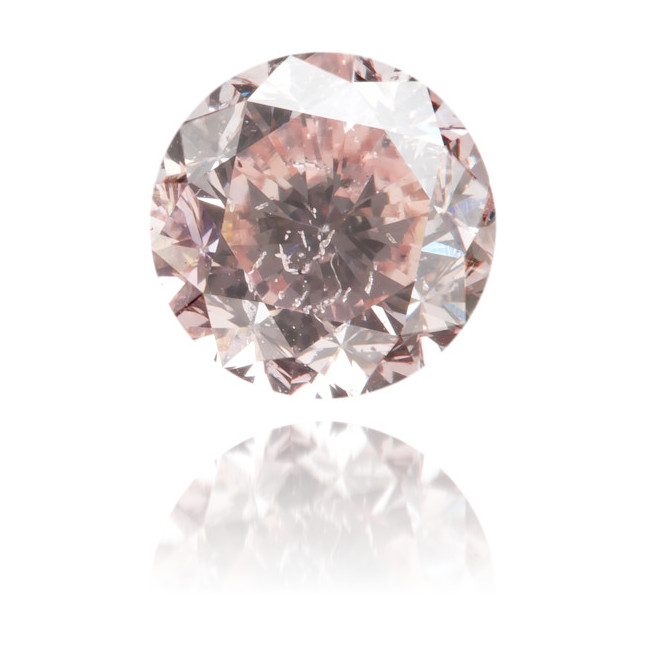 Natural Pink Diamond Round 1.56 ct Polished