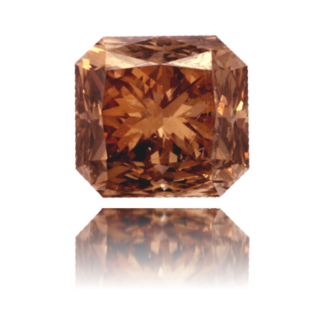 Natural Brown Diamond Square 2.27 ct Polished