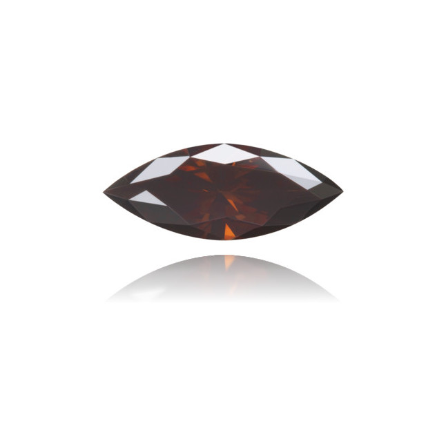 Natural Brown Diamond Marquise 0.36 ct Polished