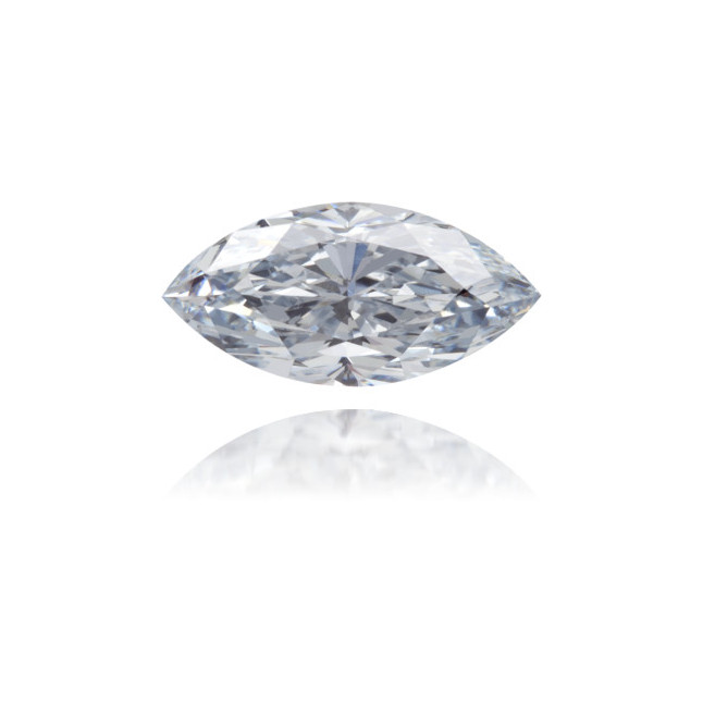 Natural Blue Diamond Marquise 0.62 ct Polished