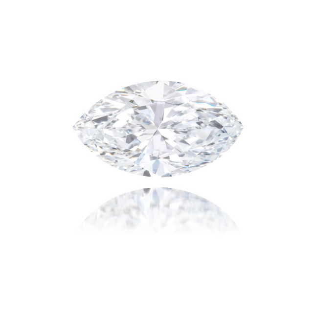 Natural Blue Diamond Marquise 0.50 ct Polished