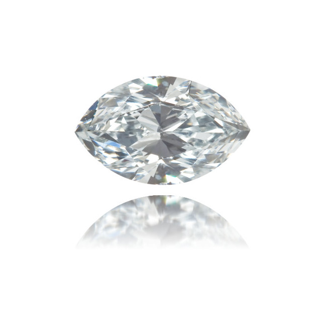 Natural Blue Diamond Marquise 0.47 ct Polished