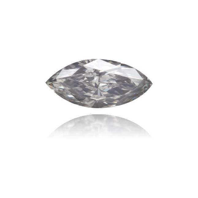 Natural Blue Diamond Marquise 0.43 ct Polished