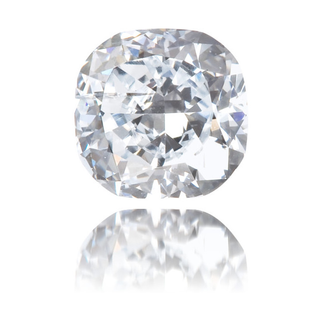 Natural Blue Diamond Cushion 0.43 ct Polished
