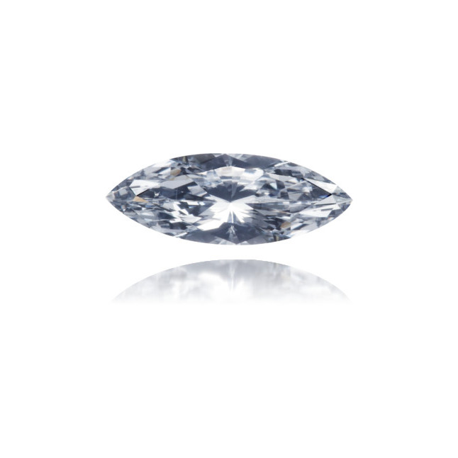 Natural Blue Diamond Marquise 0.36 ct Polished