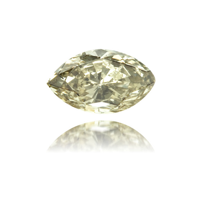 Natural Green Diamond Marquise 0.33 ct Polished