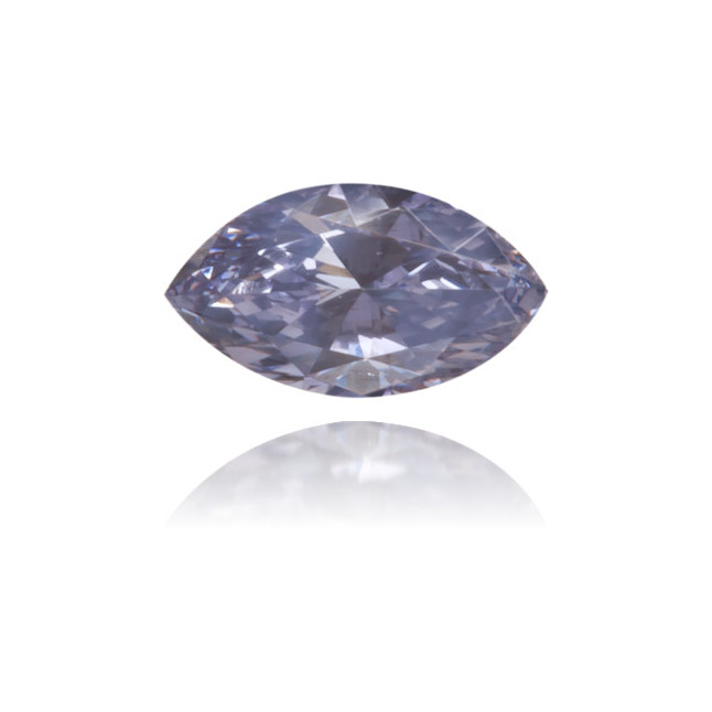 Natural Blue Diamond Marquise 0.09 ct Polished