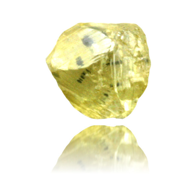 Natural Yellow Diamond Rough 0.67 ct Rough