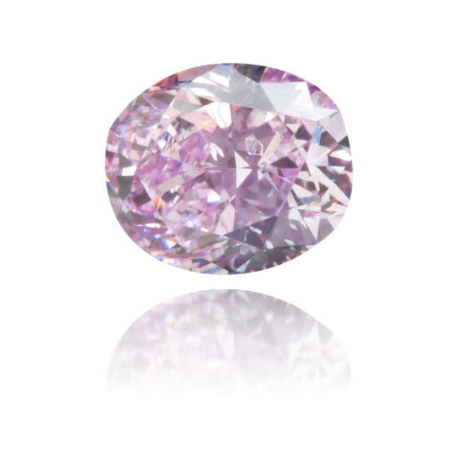 Natural Purple Diamond Oval 0.35 ct Polished