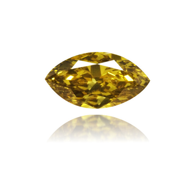 Natural Green Diamond Marquise 0.19 ct Polished
