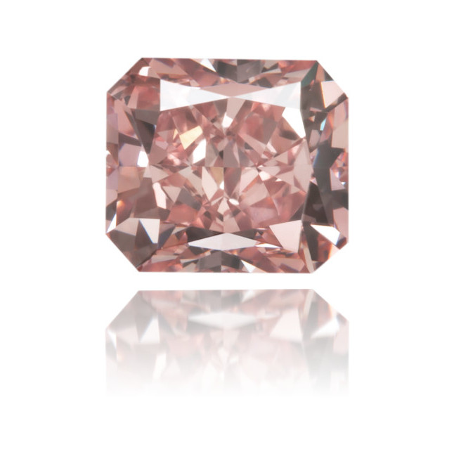 Natural Pink Diamond Rectangle 0.53 ct Polished