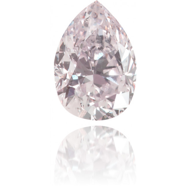 Natural Pink Diamond Pear Shape 0.19 ct Polished