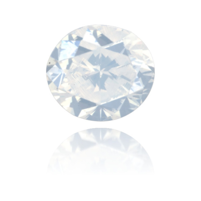 Natural White Diamond Oval 0.96 ct Polished