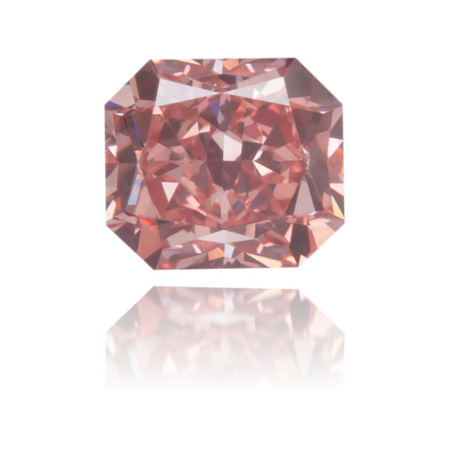 Natural Pink Diamond Rectangle 0.54 ct Polished