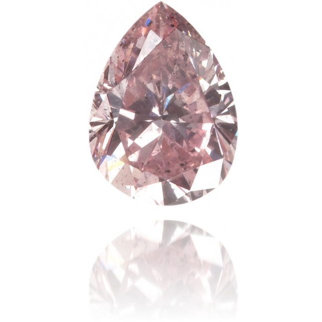 Natural Pink Diamond Pear Shape 0.26 ct Polished