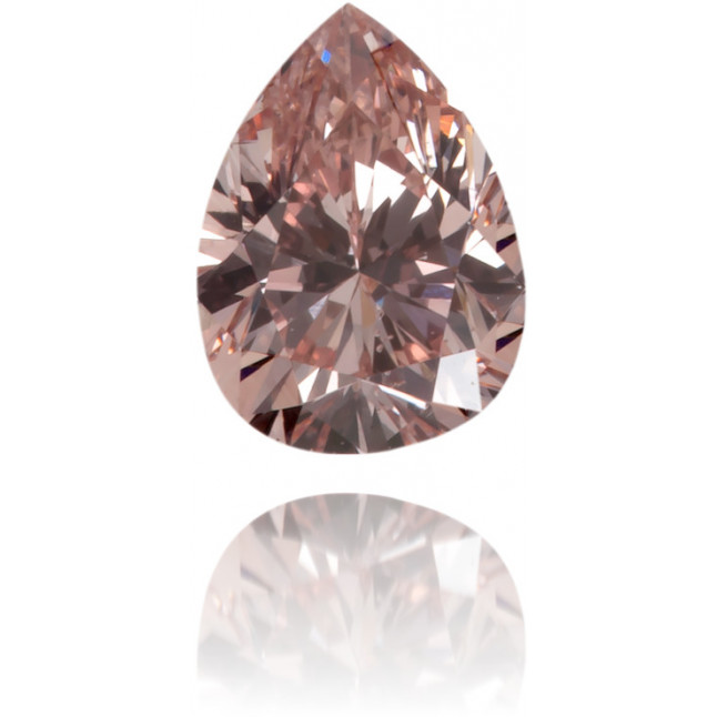 Natural Pink Diamond Pear Shape 0.23 ct Polished