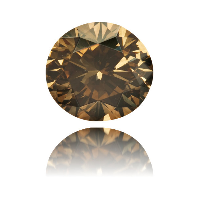 Natural Brown Diamond Oval 1.08 ct Polished