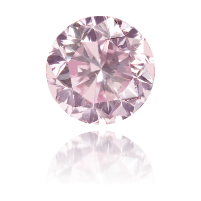 Natural Pink Diamond Round 0.56 ct Polished