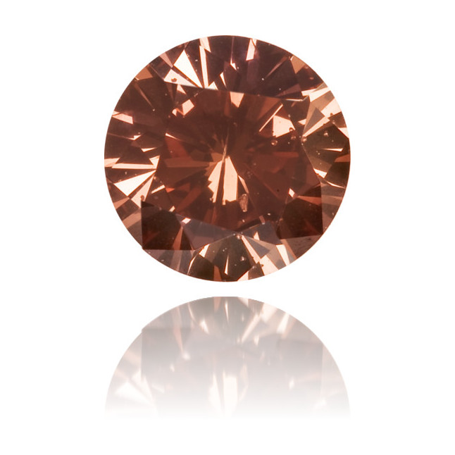 Natural Pink Diamond Round 0.30 ct Polished