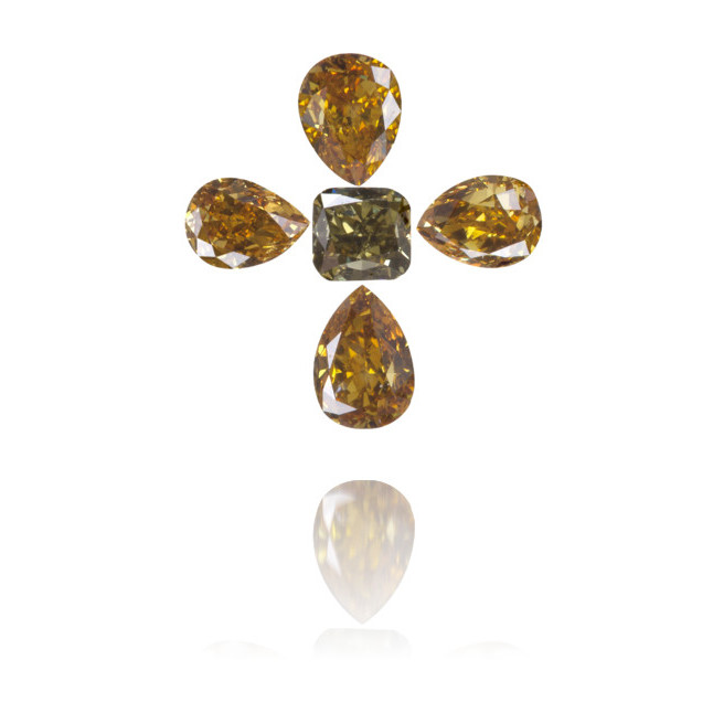 Natural Other Diamond  0.94 ct Set